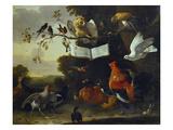 A Concert of Birds Affiches par Melchior de Hondecoeter