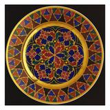 Nicholas I Imperial Porcelain Dinner-Plate Art