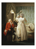 The Story of Laetitia: Dressing for the Masquerade Giclee Print by George Morland
