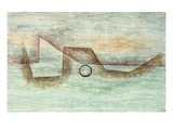 Flooding; Uberflutung Print by Paul Klee