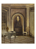 The Stove in the Dining Room, Liselund Giclee Print by Peter Ilsted