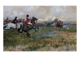 A Field Well in Hand Giclee Print by Gilbert Holiday