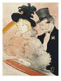 Au Concert Prints by Henri de Toulouse-Lautrec