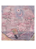 Scene at the Water; Scene Am Wasser Premium Giclee Print by Paul Klee
