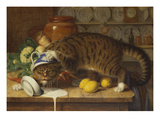The Collared Thief Giclée-Druck von William J. Webbe Or Webb