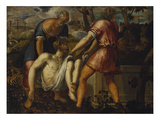 The Entombment of Christ Giclee Print by Jacopo Robusti Tintoretto (Circle of)
