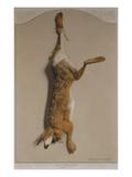 Souvenirs of the Hunt:The Hare; Souvenirs De Chasses: Le Lievre Affiche par Edouard Travies