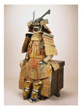A Nimai Omodaka Odoshi Do Tosei-Gusoku Suit of Armour Giclee Print