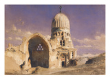 The Tomb of Sit Chavann Giclee Print by Carl Haag