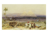 On the Nile, Egypt Giclee Print by William Clarkson Stanfield