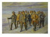 The Fishermen's Return Giclee Print by Michael Peter Ancher