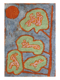 Figurative Leaves; Figurale Blatter Giclee Print by Paul Klee