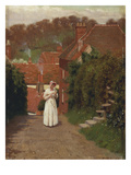 The Love Letter Giclee Print by Edmund Blair Leighton