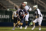 Uniondale, NY July 16 - Brian Karalunas and Paul Rabil Photographic Print by Jim McIsaac