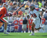 Annapolis, MD August 28 - Brodie Merrill and Paul Rabil Photographic Print by Larry French