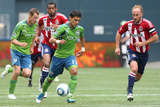 Seattle August 13 - Fredy Montero Photographic Print by Otto Greule Jr