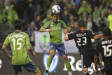 Seattle September 17 - Alvaro Fernandez and Fredy Montero Photographic Print by Otto Greule Jr