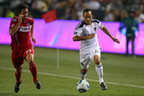 Carson, CA July 9 - Diego Chaves and Landon Donovan Photographic Print by Victor Decolongon