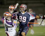 Boston, MA July 23 - Brice Queener and Paul Rabil Photographic Print by Jim Rogash