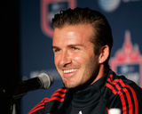 New York, NY July 25 - David Beckham Photographic Print by Mike Lawrie
