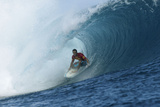 Teahupoo, Tahiti May 11 Photographic Print by Aaron Chang