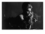 Vogue - November 1962 - Smoky Sophia Regular Photographic Print by Bert Stern