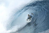 Teahupoo, Tahiti May 15 Photographic Print by Aaron Chang