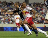 Harrison, NJ September 10 - Peter Vagenas and Thierry Henry Photographic Print by Jim McIsaac