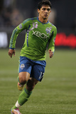 Seattle October 15 - Fredy Montero Photographic Print by Otto Greule Jr