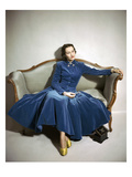 Vogue - August 1947 Regular Photographic Print by Frances Mclaughlin-Gill