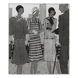 Vogue - August 1929 Regular Giclee Print by Jean Pagès