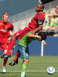 Seattle September 10 - Fredy Montero and Jamison Olave Photographic Print by Otto Greule Jr