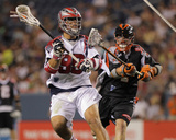 Denver, CO July 30 - Matt Bocklet and Paul Rabil Photographie par Doug Pensinger
