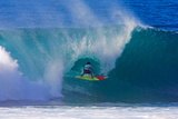 Pipeline, HI December 8 - Bruno Santos Photographic Print by Pierre Tostee