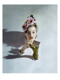 Vogue - March 1943 Regular Photographic Print by John Rawlings