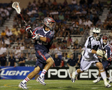 Uniondale, NY July 16 - Nicky Polanco and Paul Rabil Photographic Print by Jim McIsaac