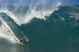 Pipeline, HI December 8 - Shane Dorian Photographic Print by Pierre Tostee