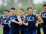 Carson, CA August 19 - David Beckham and Robbie Keane Photographic Print by Kevork Djansezian