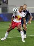 Harrison, NJ September 10 - Jay DeMerit and Thierry Henry Photographic Print by Andy Marlin