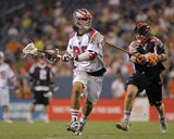 Denver, CO July 30 - Matt Bocklet and Paul Rabil Photographic Print by Doug Pensinger