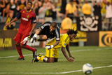 Columbus, OH June 8 - Andres Mendoza and Nick Rimando Photographic Print by Jamie Sabau