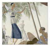 Vogue - January 1931 Regular Giclee Print by Douglas Pollard