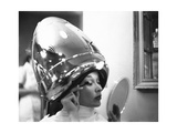 Vogue - June 1949 - Under the Dryer Regular Photographic Print by Constantin Joffé