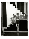 Vogue - July 1928 Photographic Print by George Hoyningen-Huené