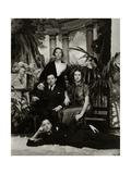 Vanity Fair - February 1936 Regular Photographic Print by Lusha Nelson