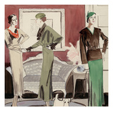 Vogue - March 1932 Regular Giclee Print by R.S. Grafstrom