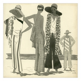 Vogue - June 1929 Giclee Print by Harriet Meserole