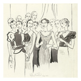 Vogue - January 1932 Regular Giclee Print by Cecil Beaton