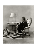 Vanity Fair - December 1934 Photographic Print by Lusha Nelson
