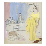 Vogue - March 1935 Regular Giclee Print von Marcel Vertes